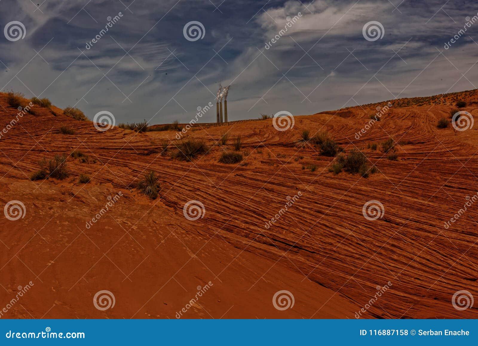 Antylopy Navajo i doliny węgla roślina