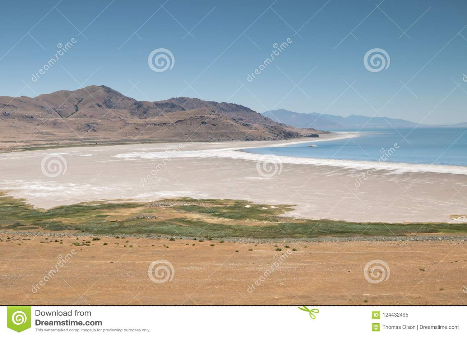 Antylopy wyspy stanu parka plaża