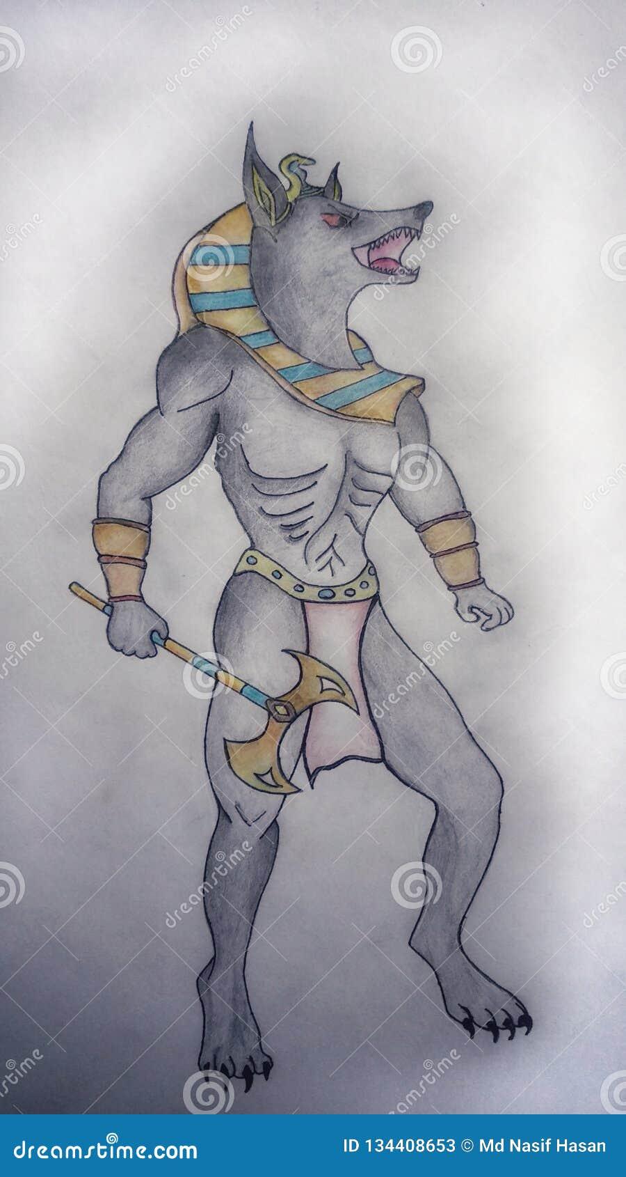 Anubis handteckning