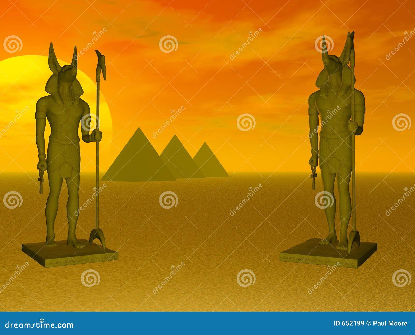 Anubis piramidy