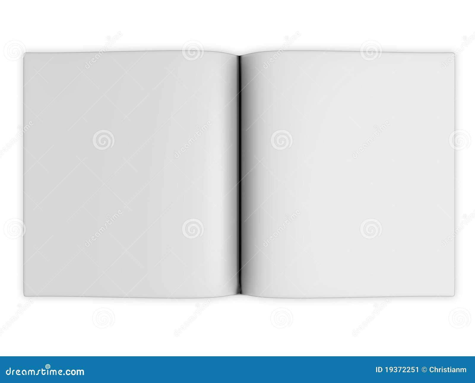 Anule páginas abertas do livro