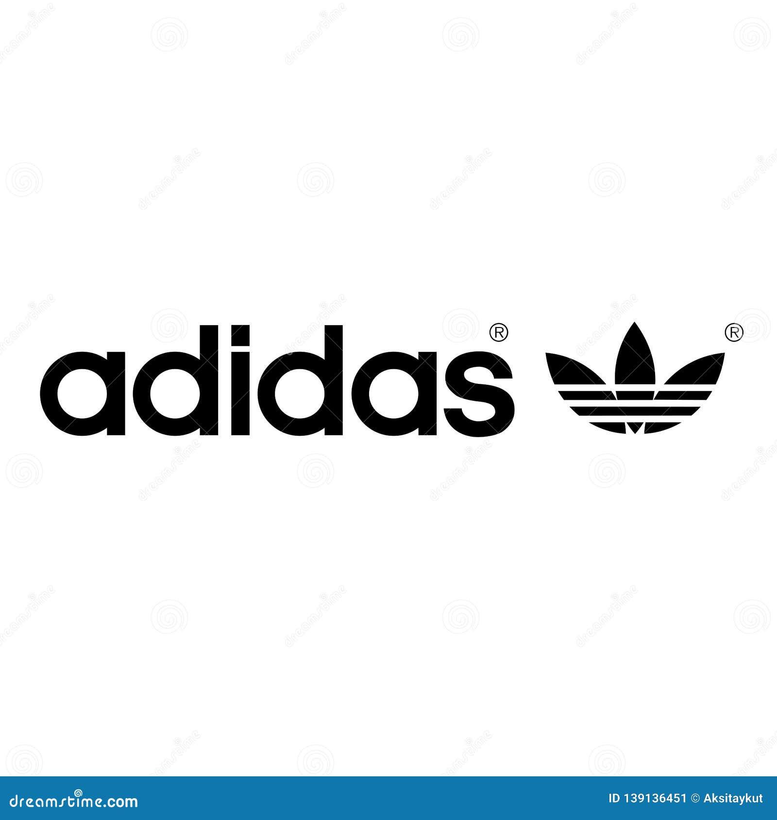 Ups Deportes estilo  Anuncio Publicitario De Los Deportes Del Logotipo De Adidas Foto editorial  - Ilustración de logotipo, deportes: 139136451