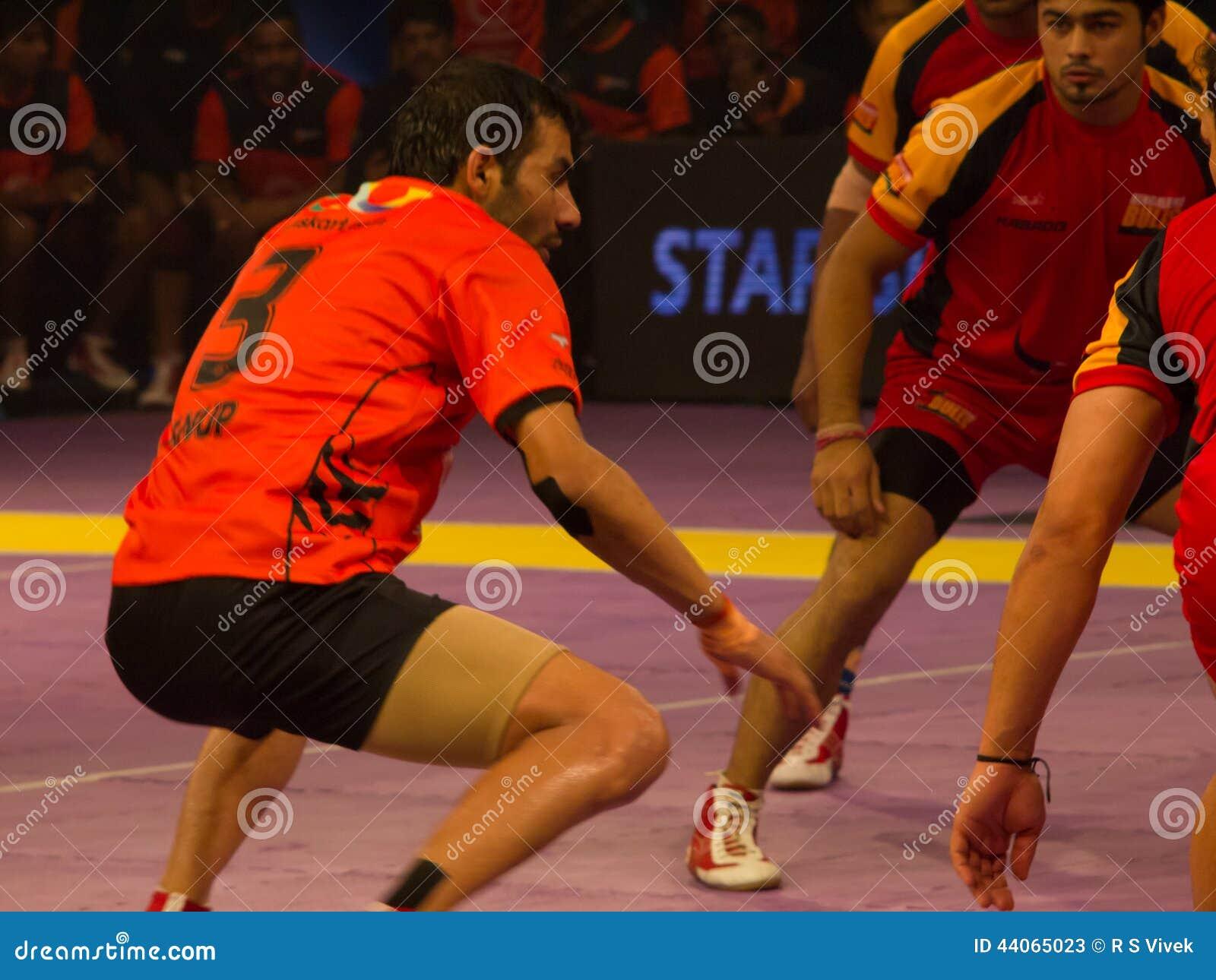 Anup Kumar Raiding Editorial Stock Photo Image 44065023