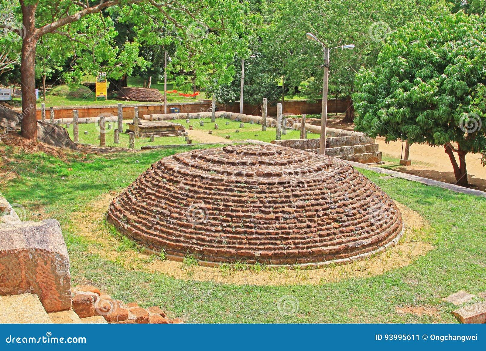 Anuradhapura Mihintale Conference Hall, Sri Lanka UNESCO World Heritage