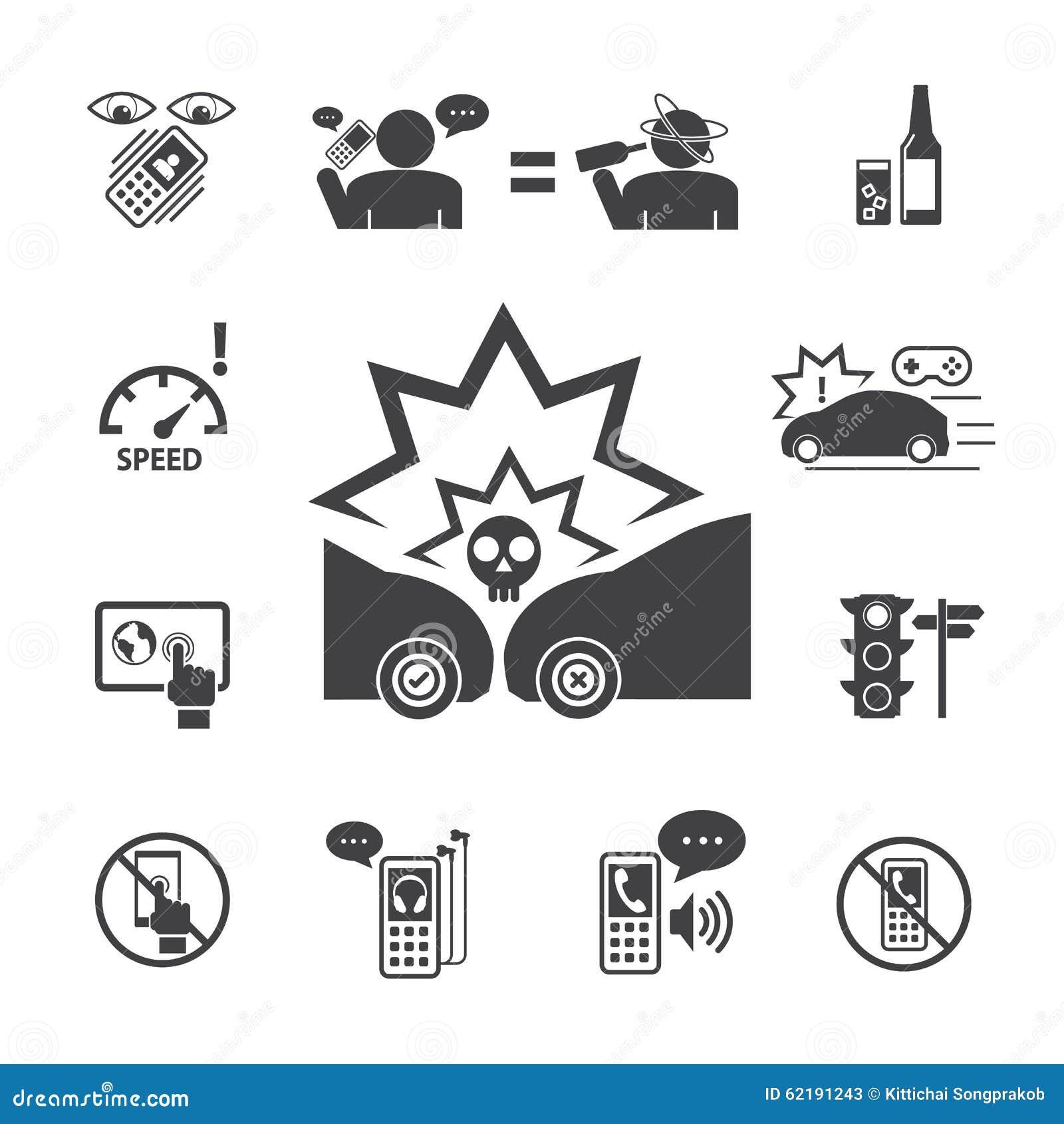 Använd inte din telefon, medan köra