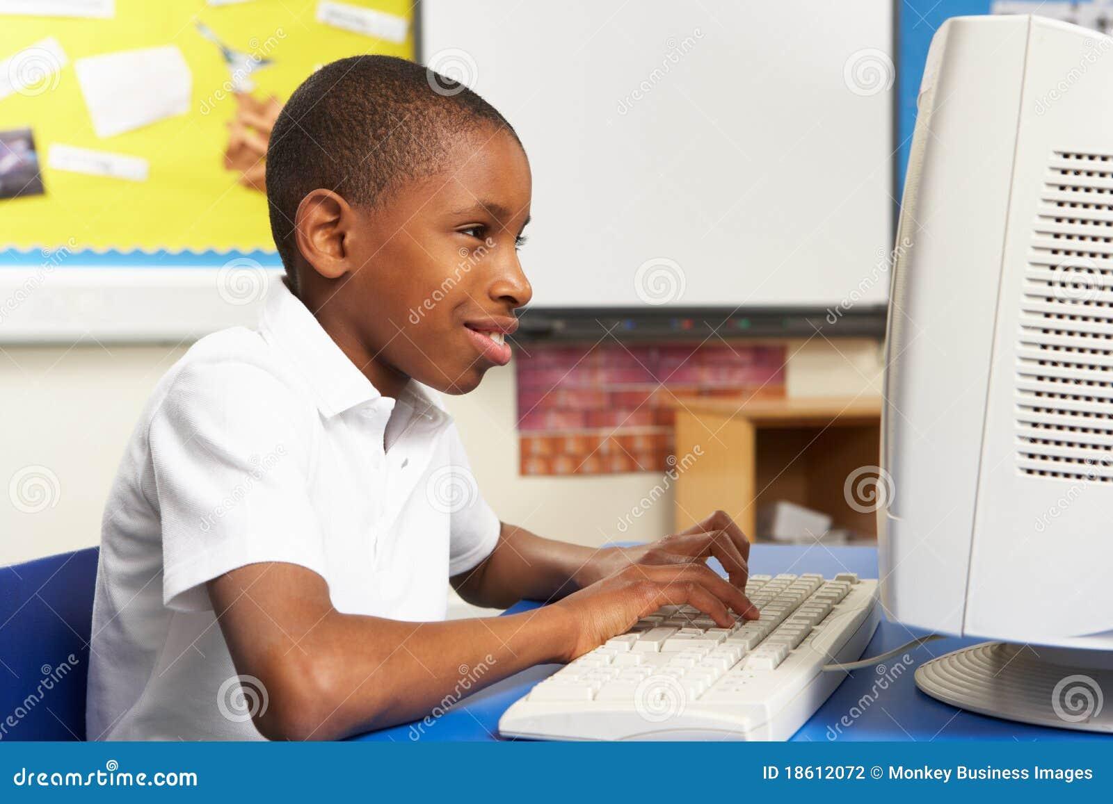 Använda för gruppdatorschoolboy