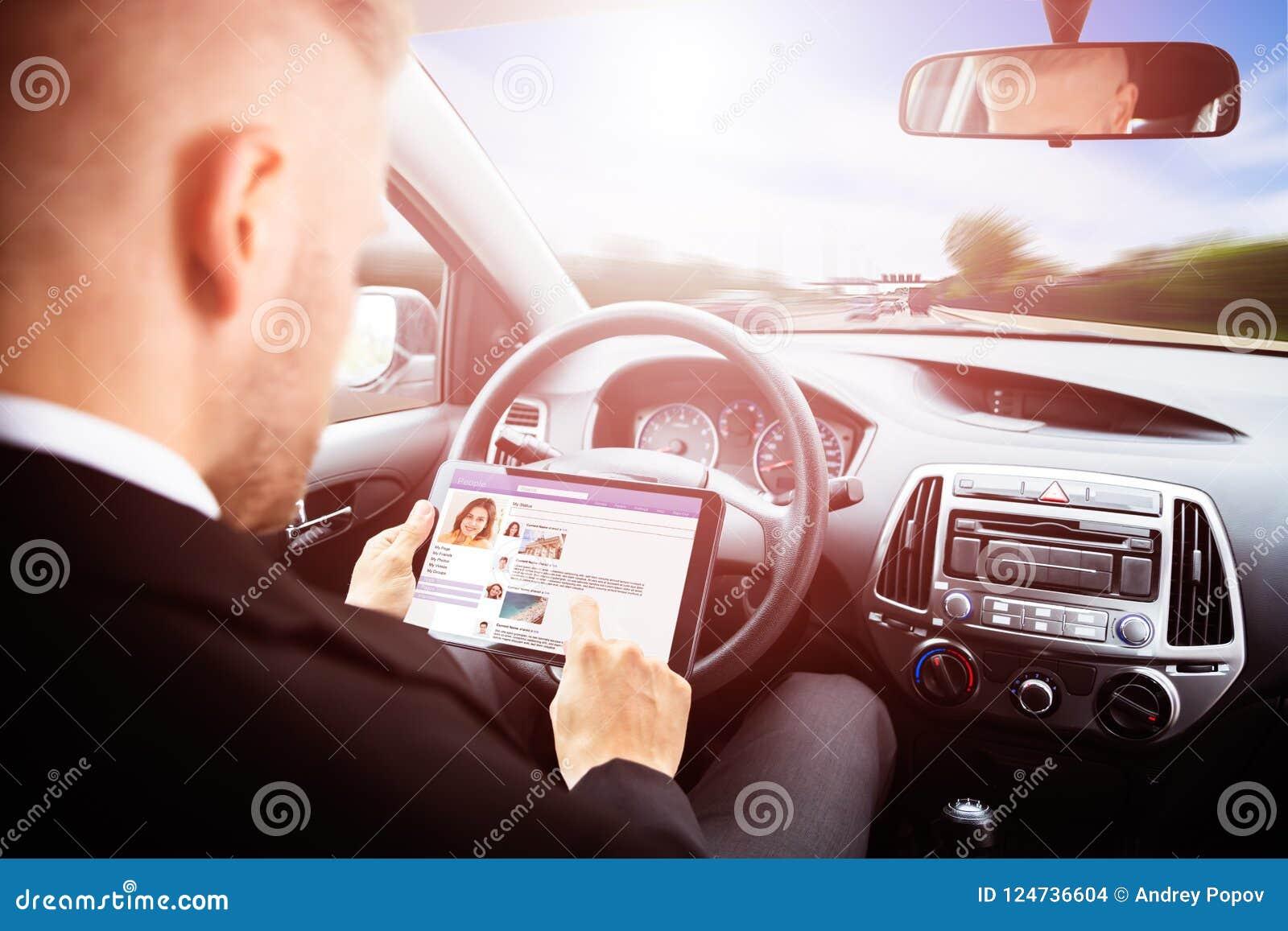 Använda för tablet för affärsman digitalt