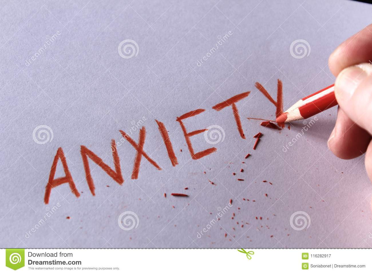 anxiety paper