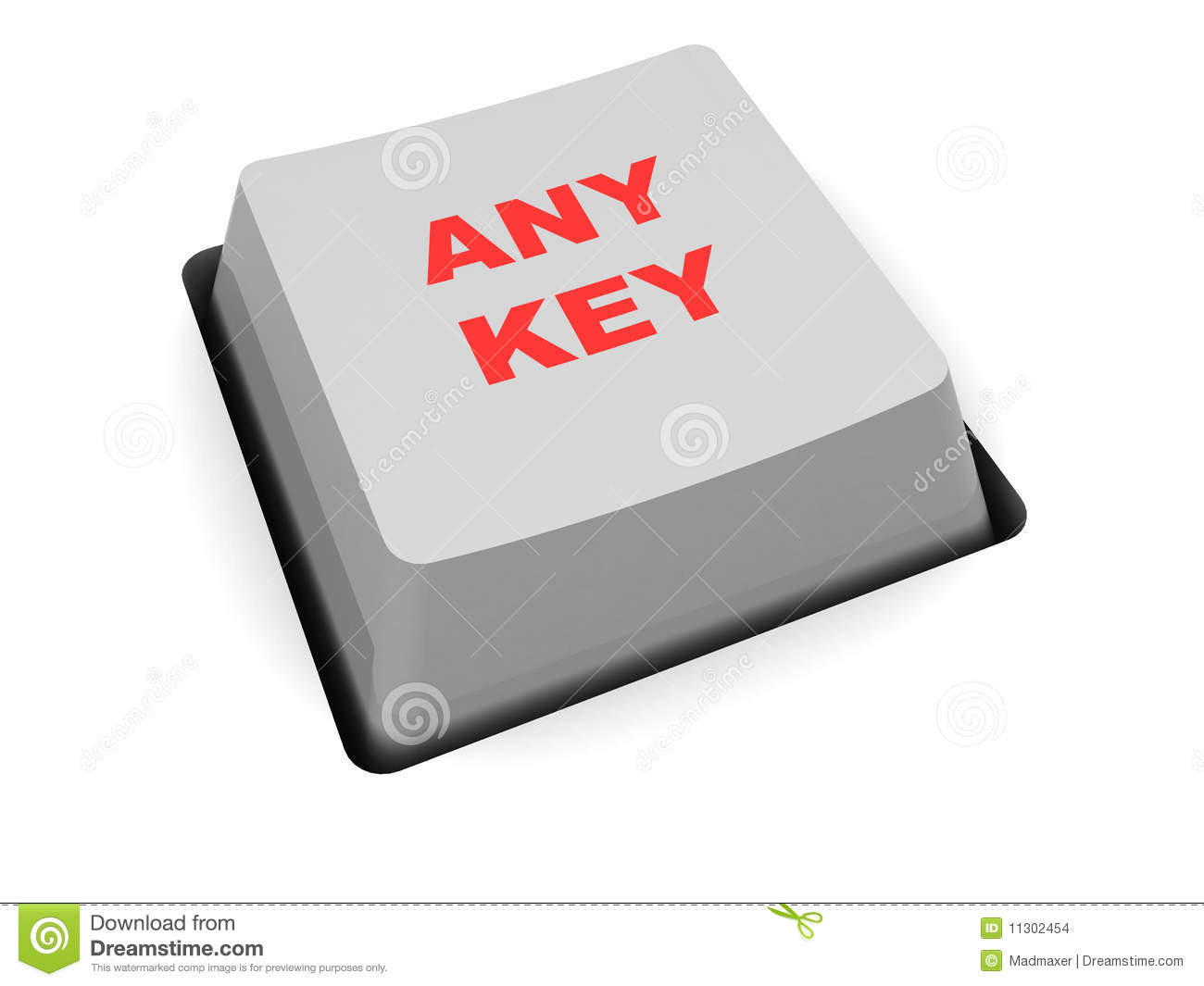any key  button