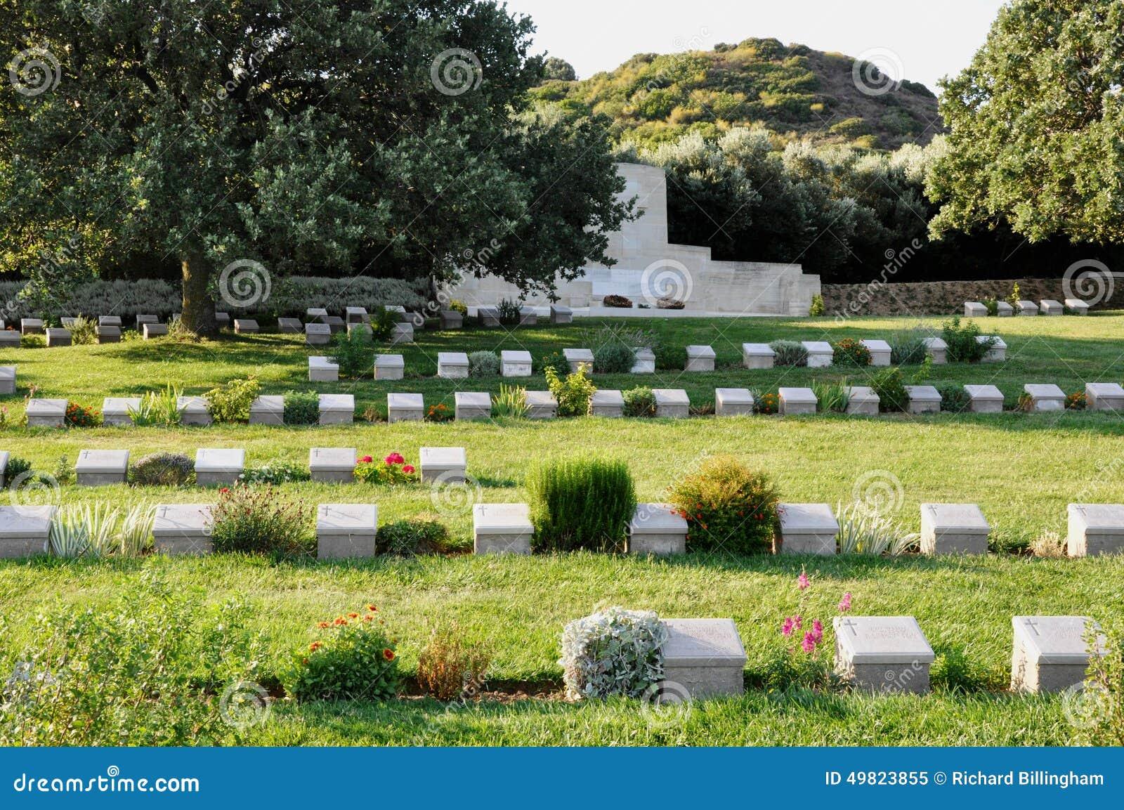 Anzac Burnu Cemetery, Anzac Cove, Gallipoli, Turkije