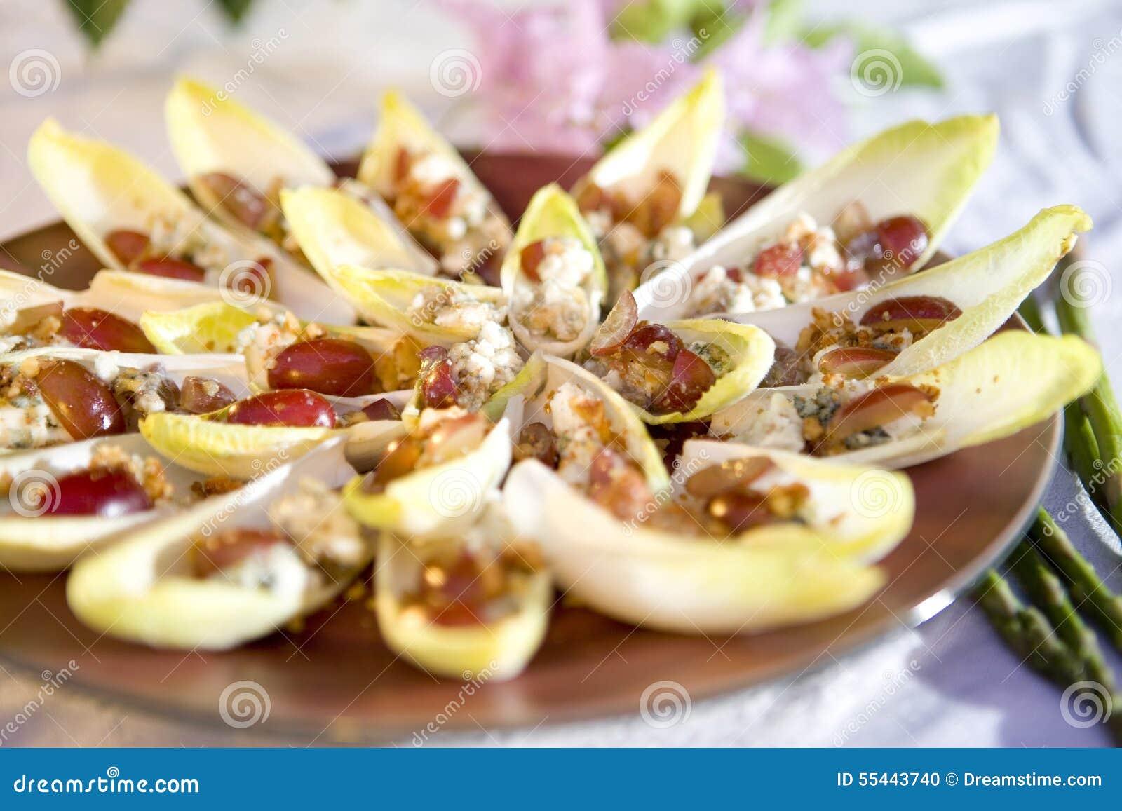 Ap ritif v g tarien d 39 endive photo stock image 55443740 - Aperitif dinatoire vegetarien ...