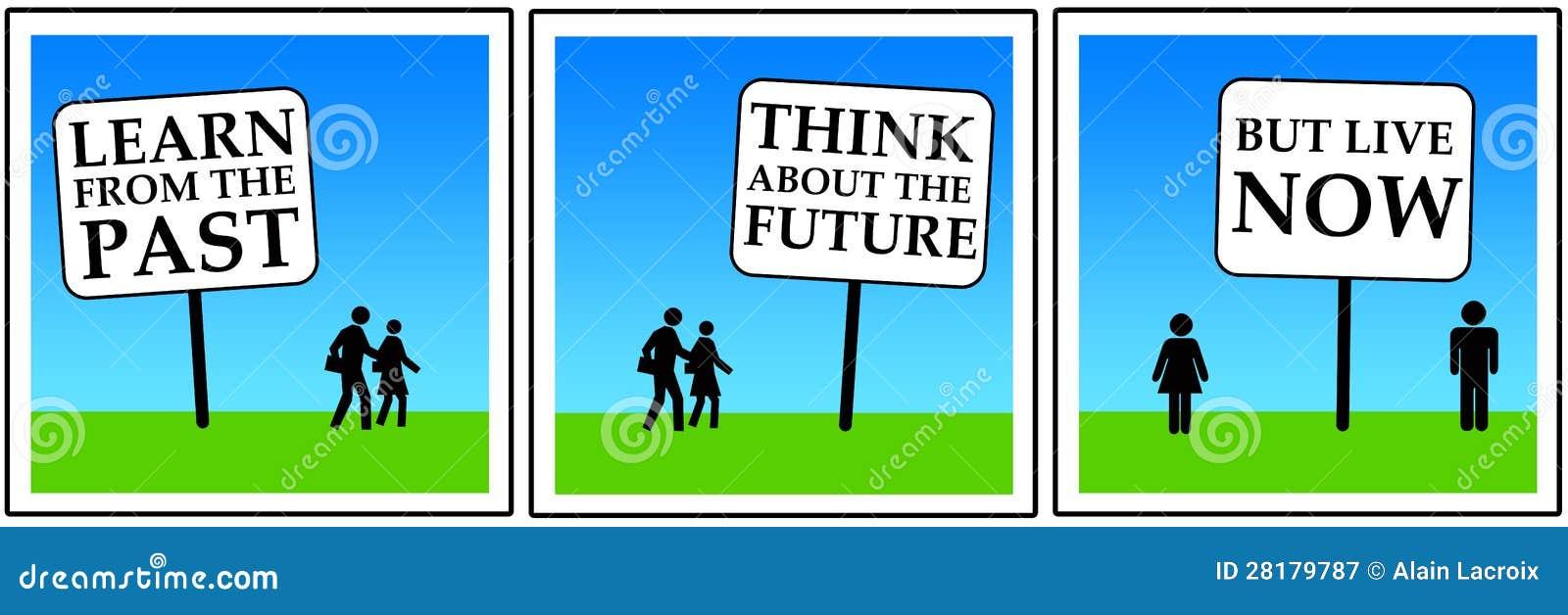 Após o futuro agora