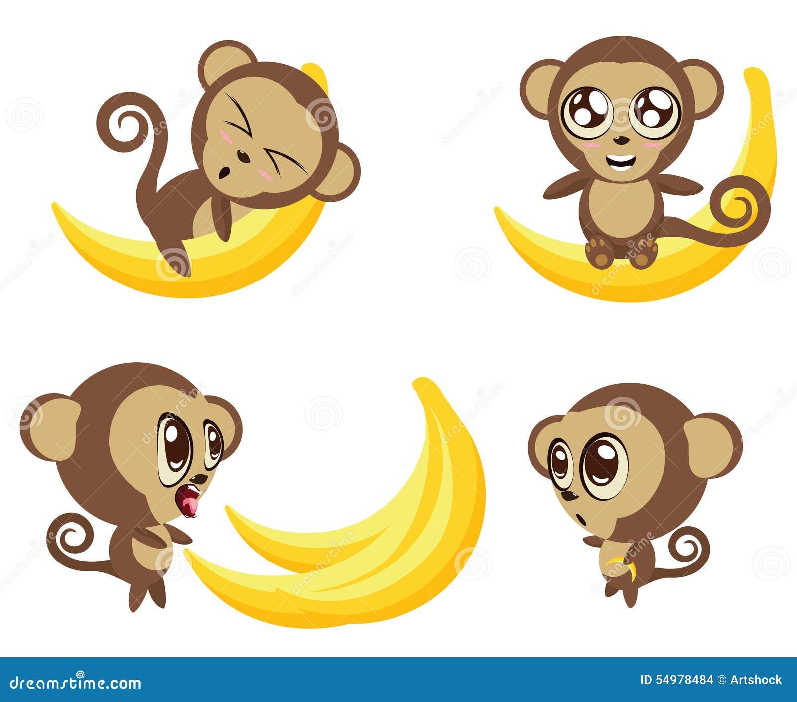 Apa med bananen