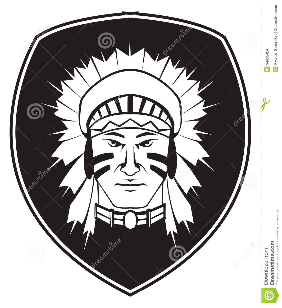 Apache Indian God Symbol
