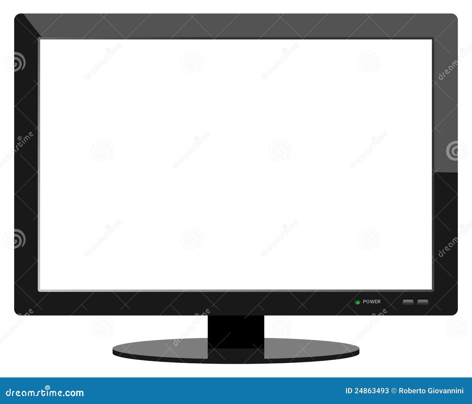 Aparato de tv moderno de la pantalla plana fotos de - Television pequena plana ...