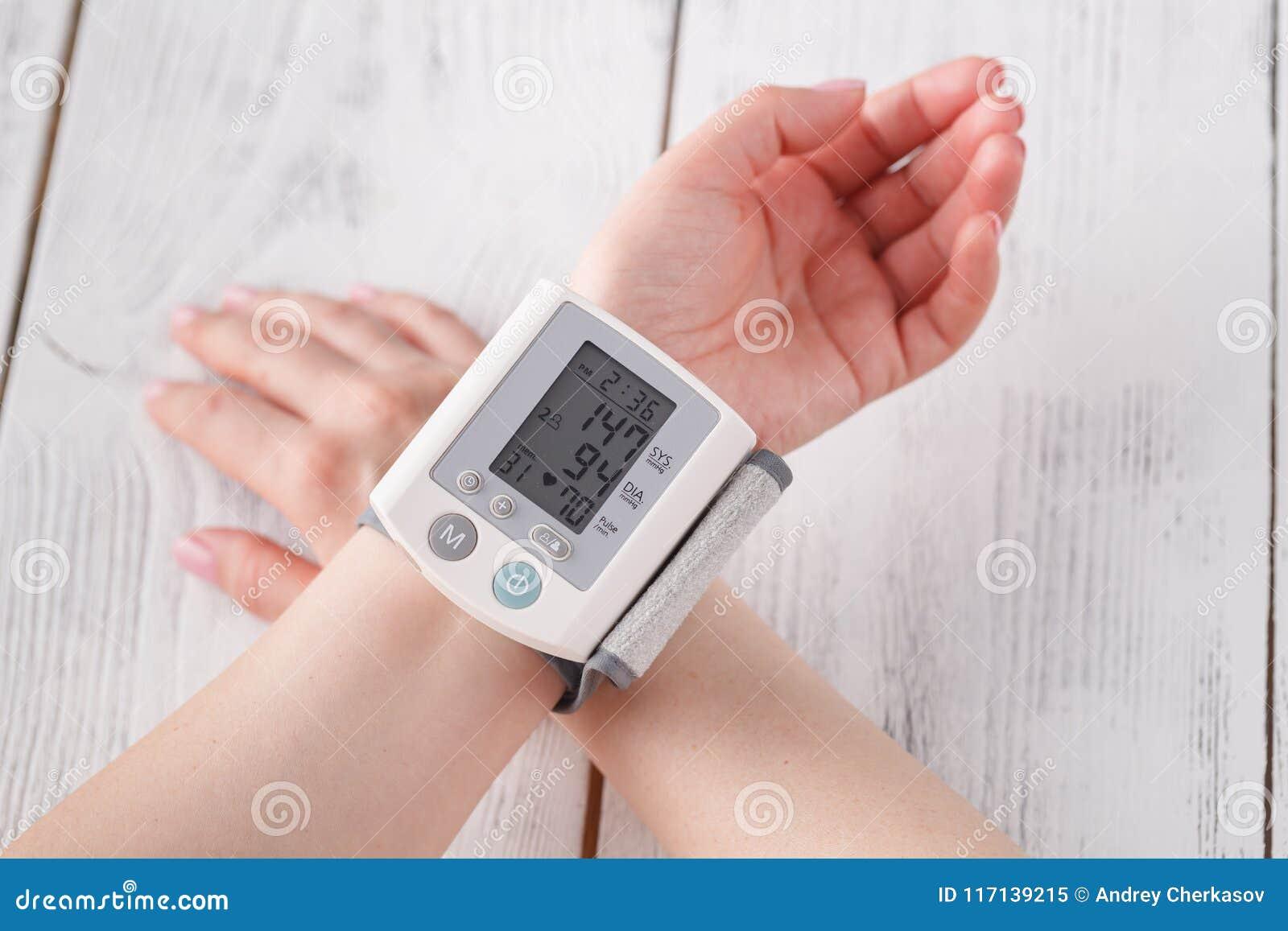 Equipo para tomar la tension arterial