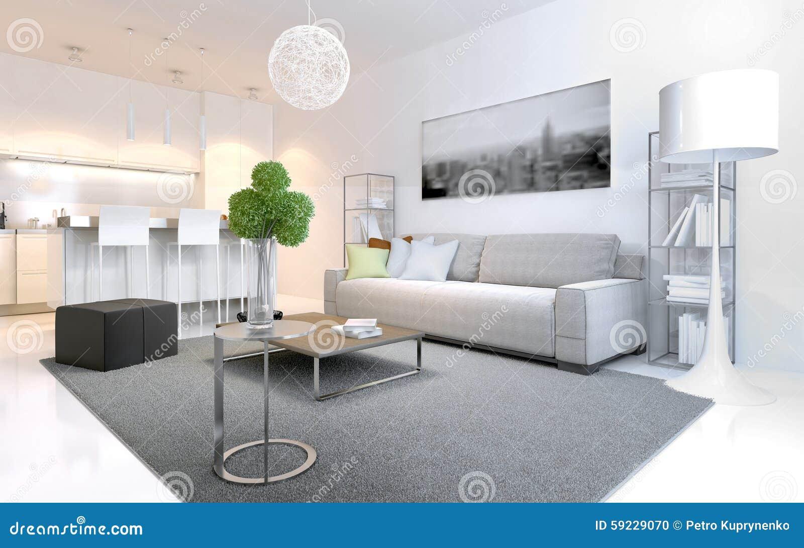 Download Apartamentos Escandinavos Del Estilo Stock de ilustración - Ilustración de contemporáneo, construido: 59229070