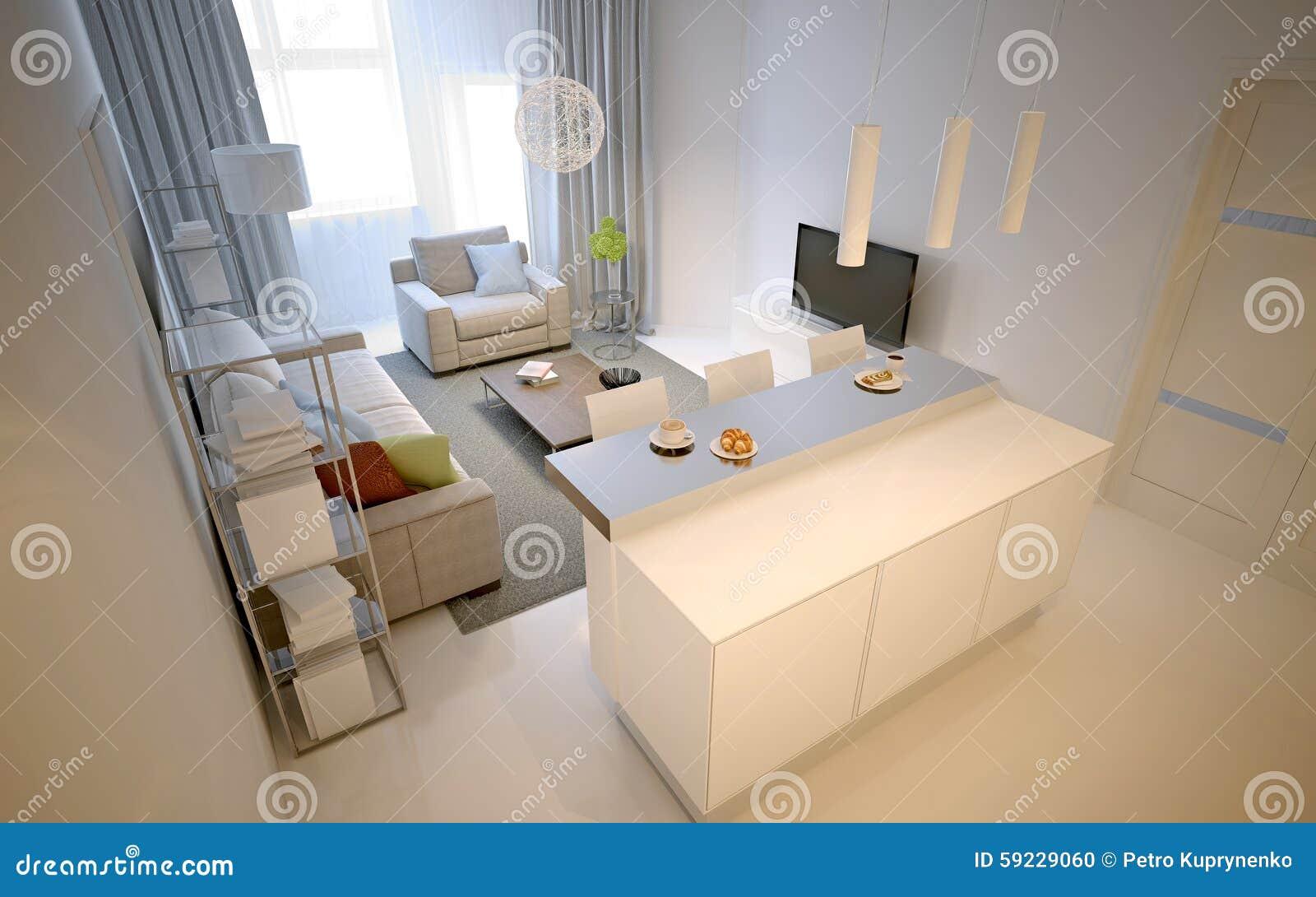 Download Apartamentos-estudios Blancos Stock de ilustración - Ilustración de latte, crema: 59229060