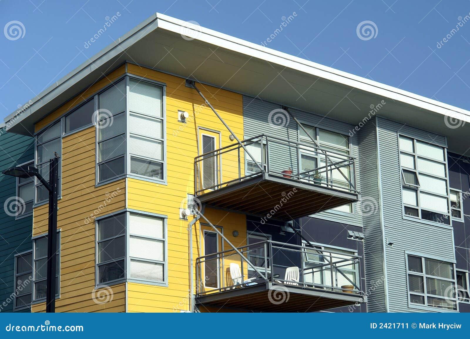 Apartamentos modernos imagen de archivo imagen 2421711 for Apartamentos disenos modernos