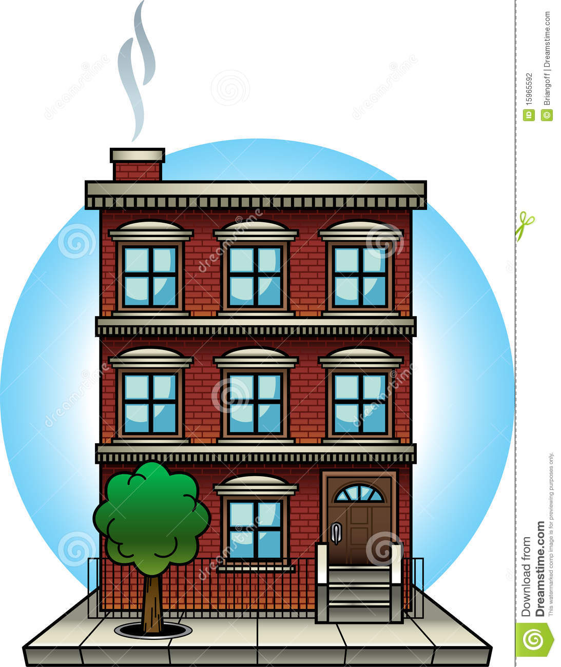 apartment building stock photography - image: 15965592
