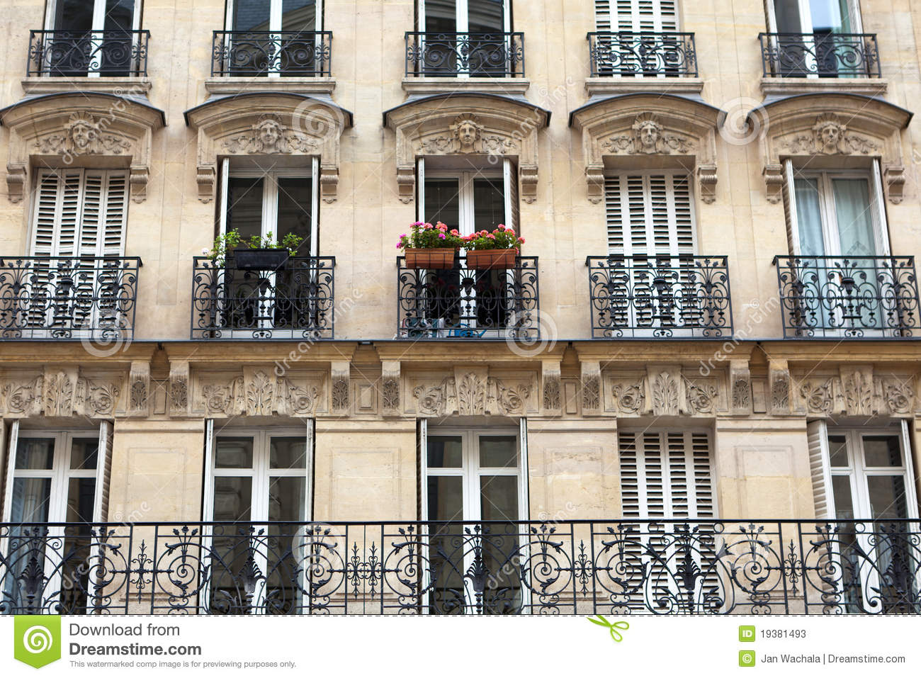 Stock Photos Apartment Building Image19381493 on Neoclassical Homes