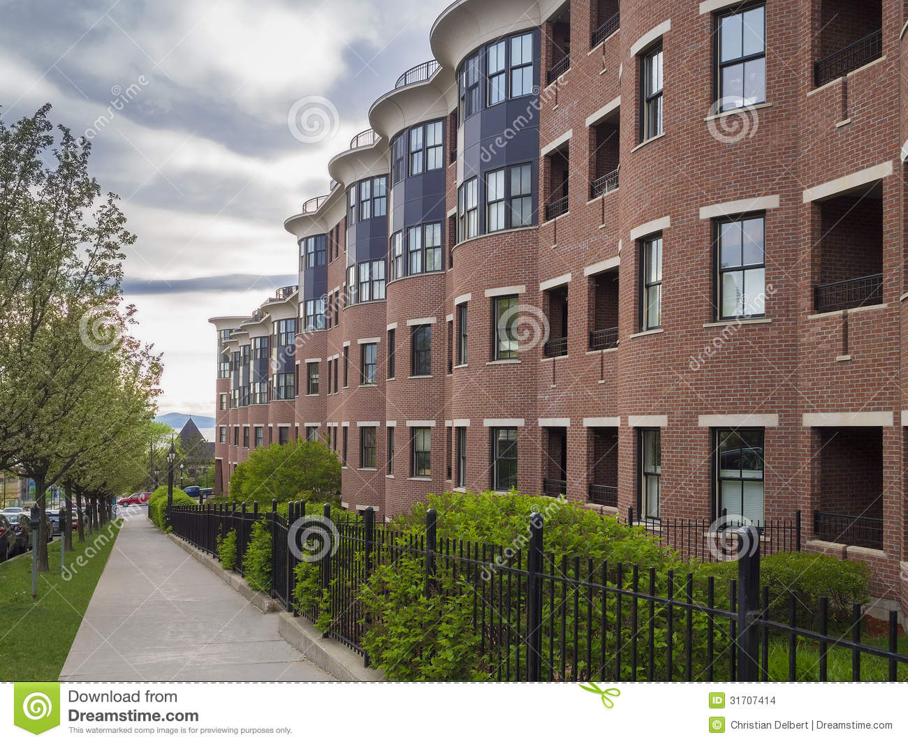 Apartment Building Stock Images - Image: 31707414