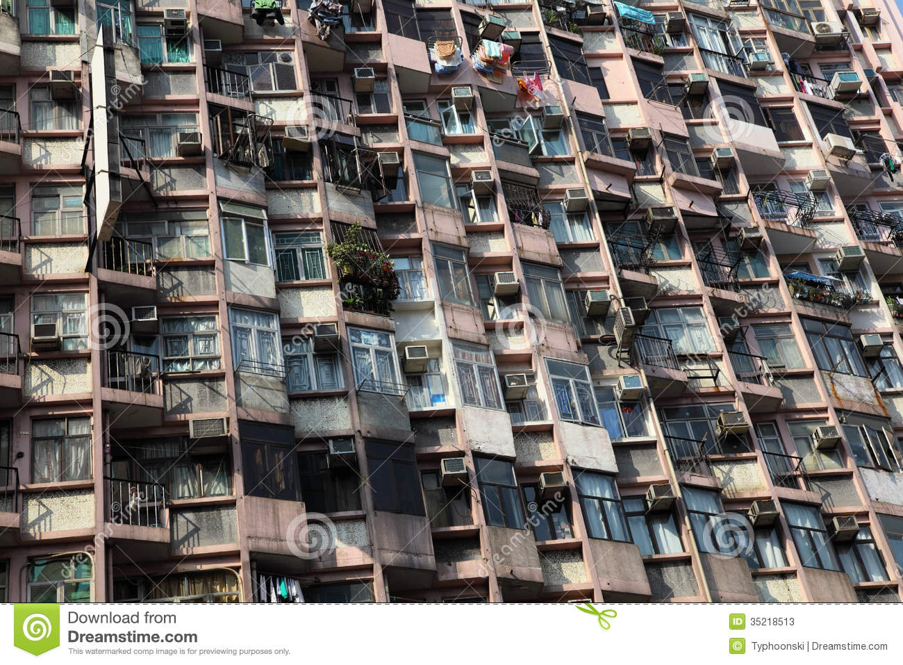Apartment Building Facade Stock Image Image Of Exterior