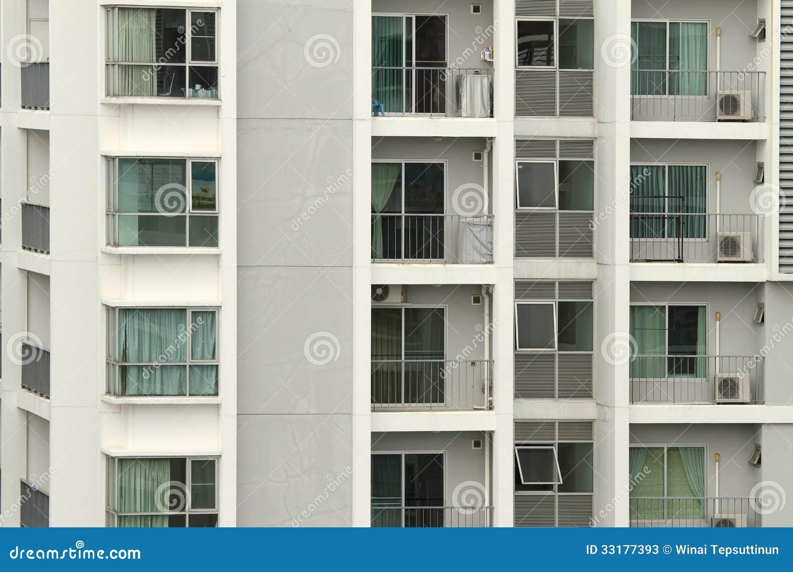 Apartment Building Front apartment building stock photos - image: 33177393