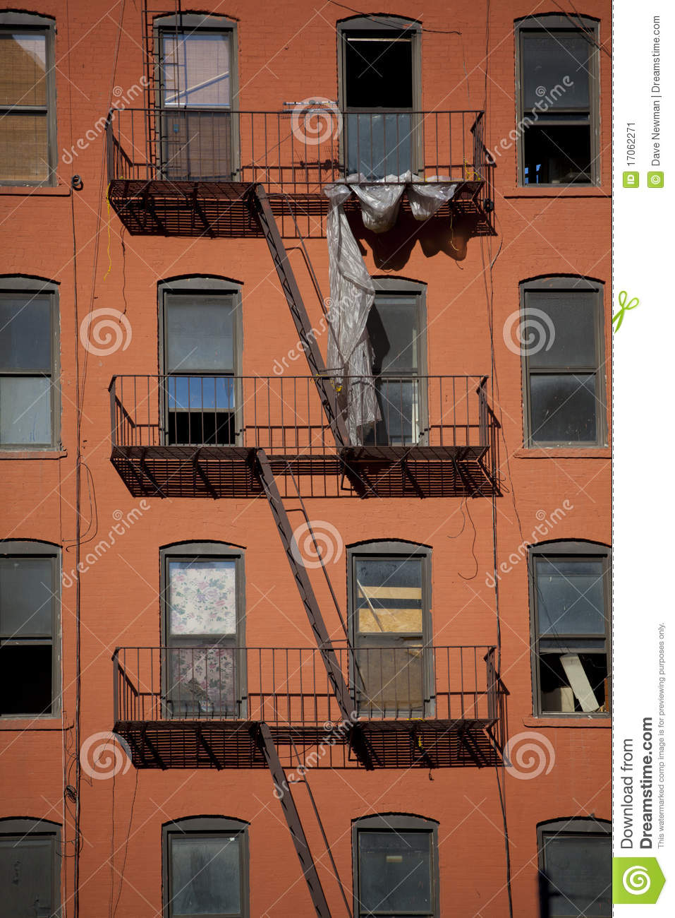 apartment building hell 39 s kitchen stock image image