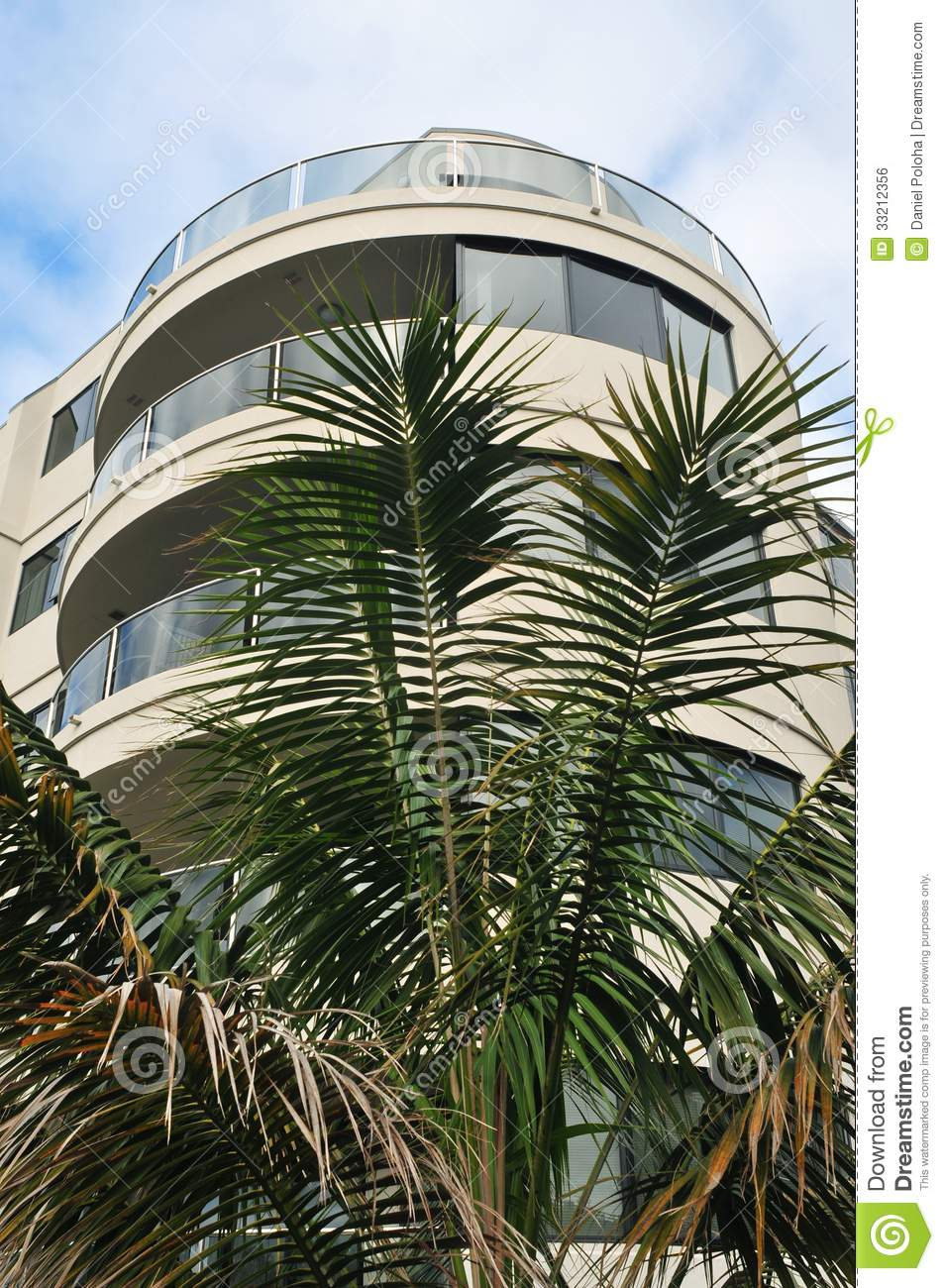 Apartment building royalty free stock image image 33212356 for Multi storey apartment modern design