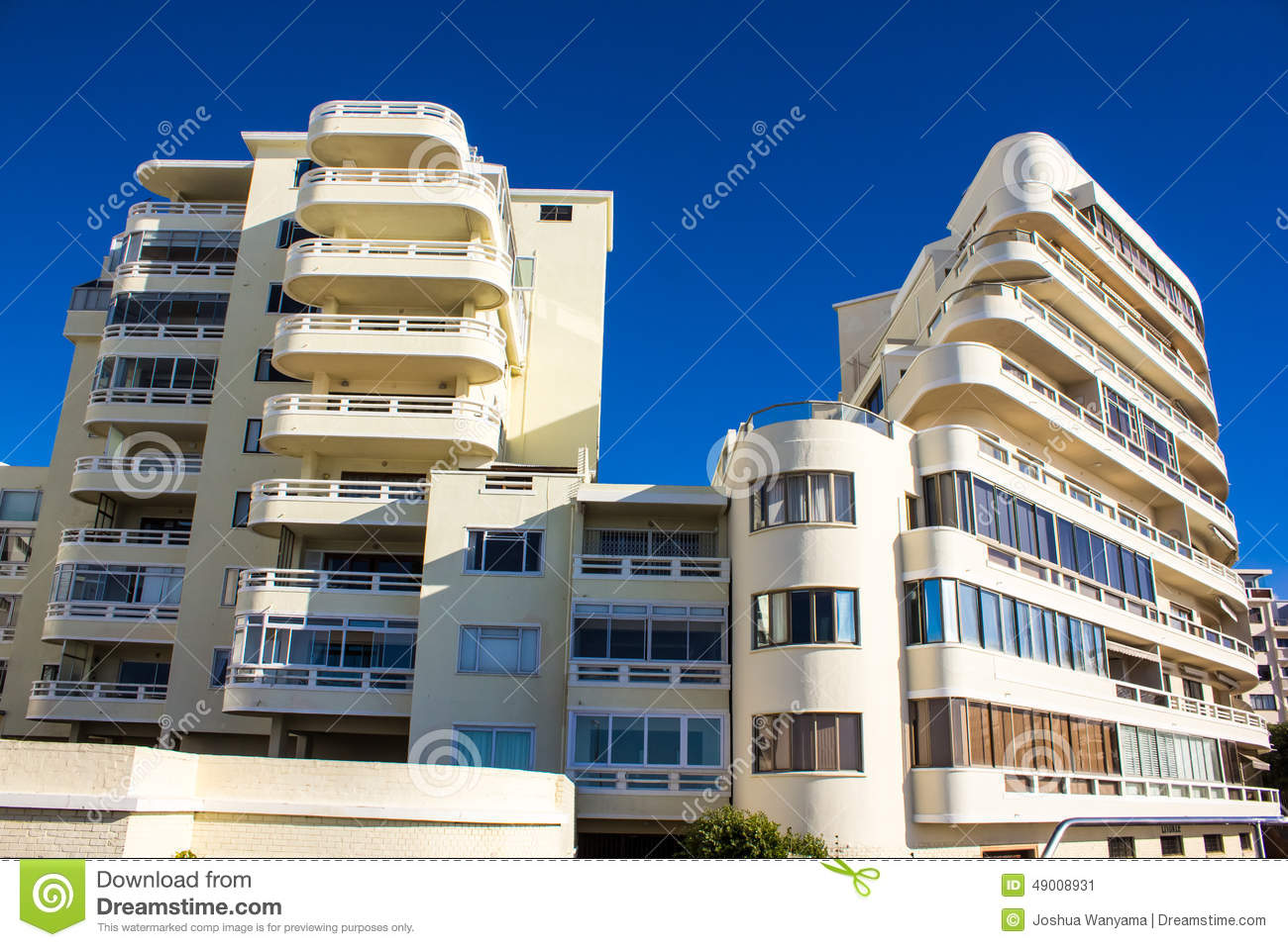 apartment building stock image image of balcony hill 49008931. Black Bedroom Furniture Sets. Home Design Ideas