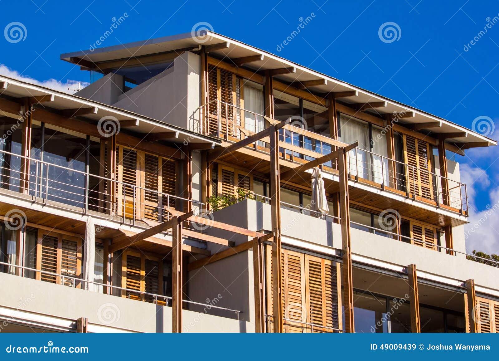 Nice Apartment Building nice apartment building with balcony stock photo - image: 40803826