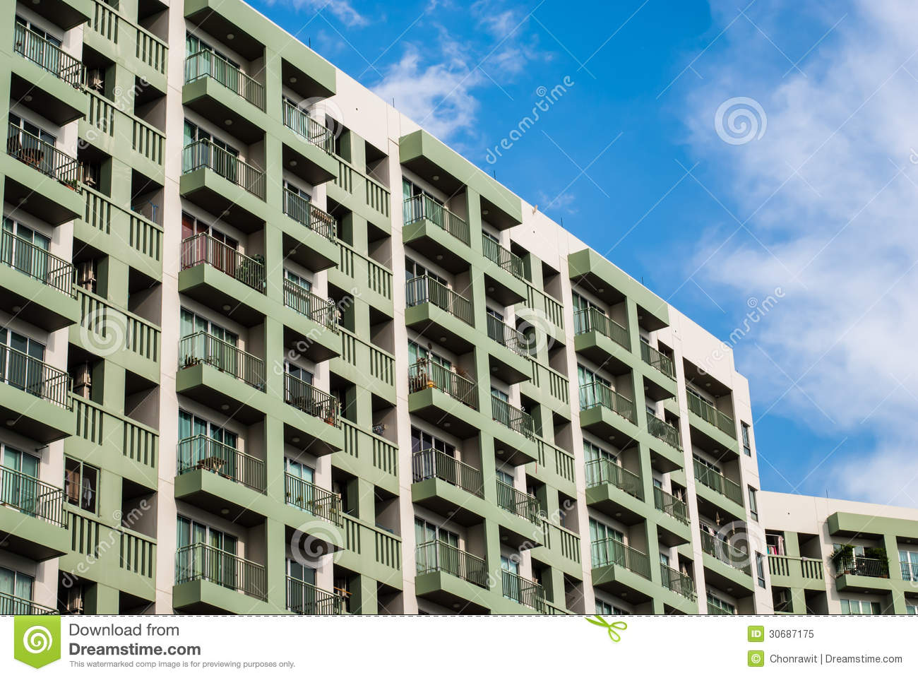 Apartment building royalty free stock photo image 30687175 for Building an estate