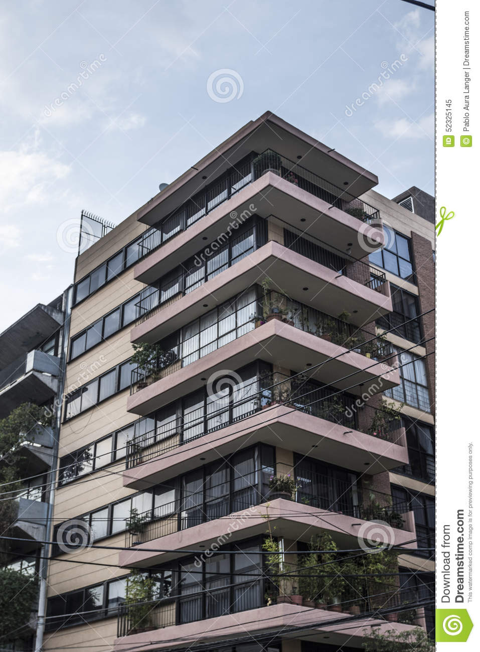 Apartment Building From The S Editorial Image Image