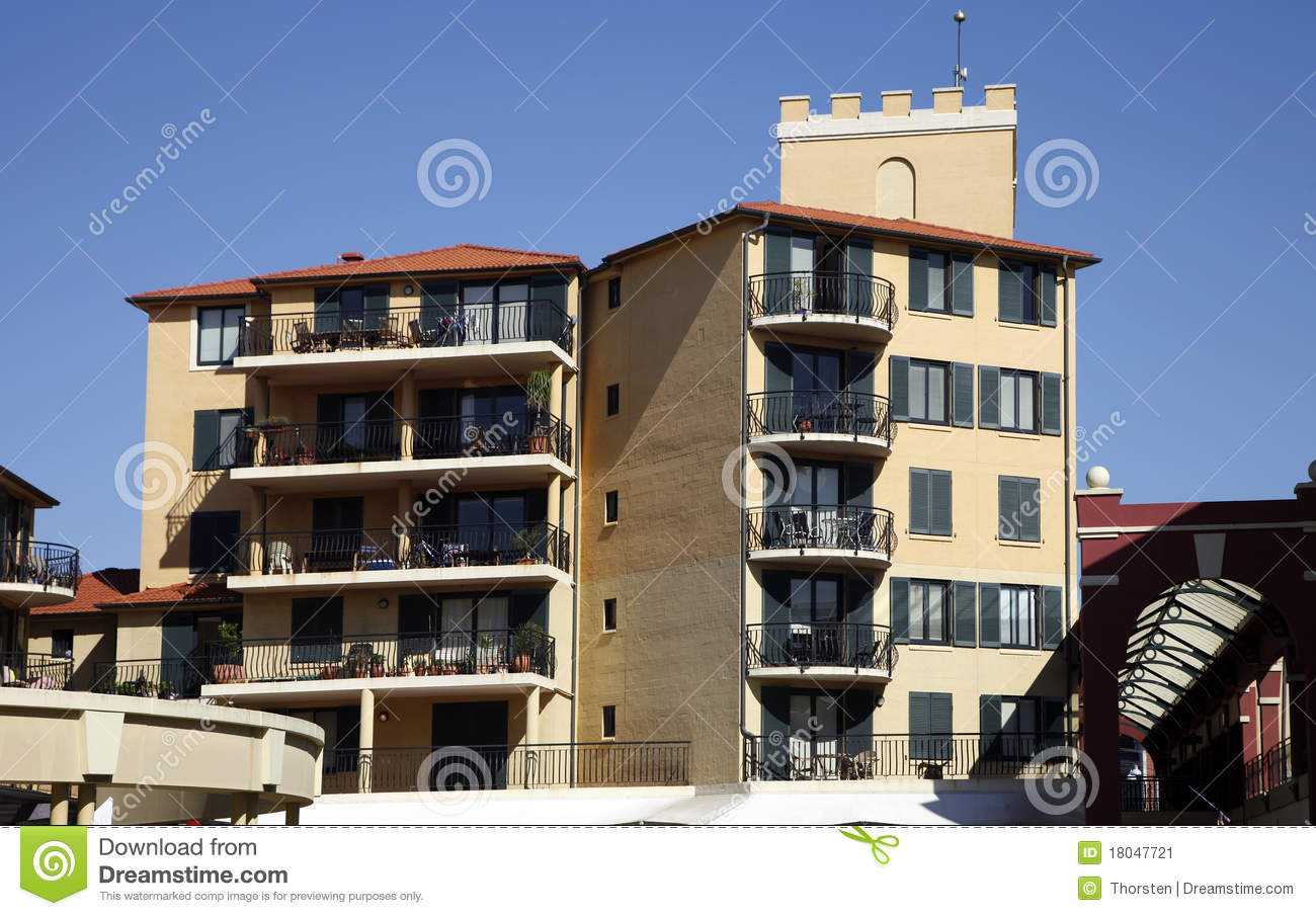 Apartment Building, Sydney, Australia Stock Image - Image ...