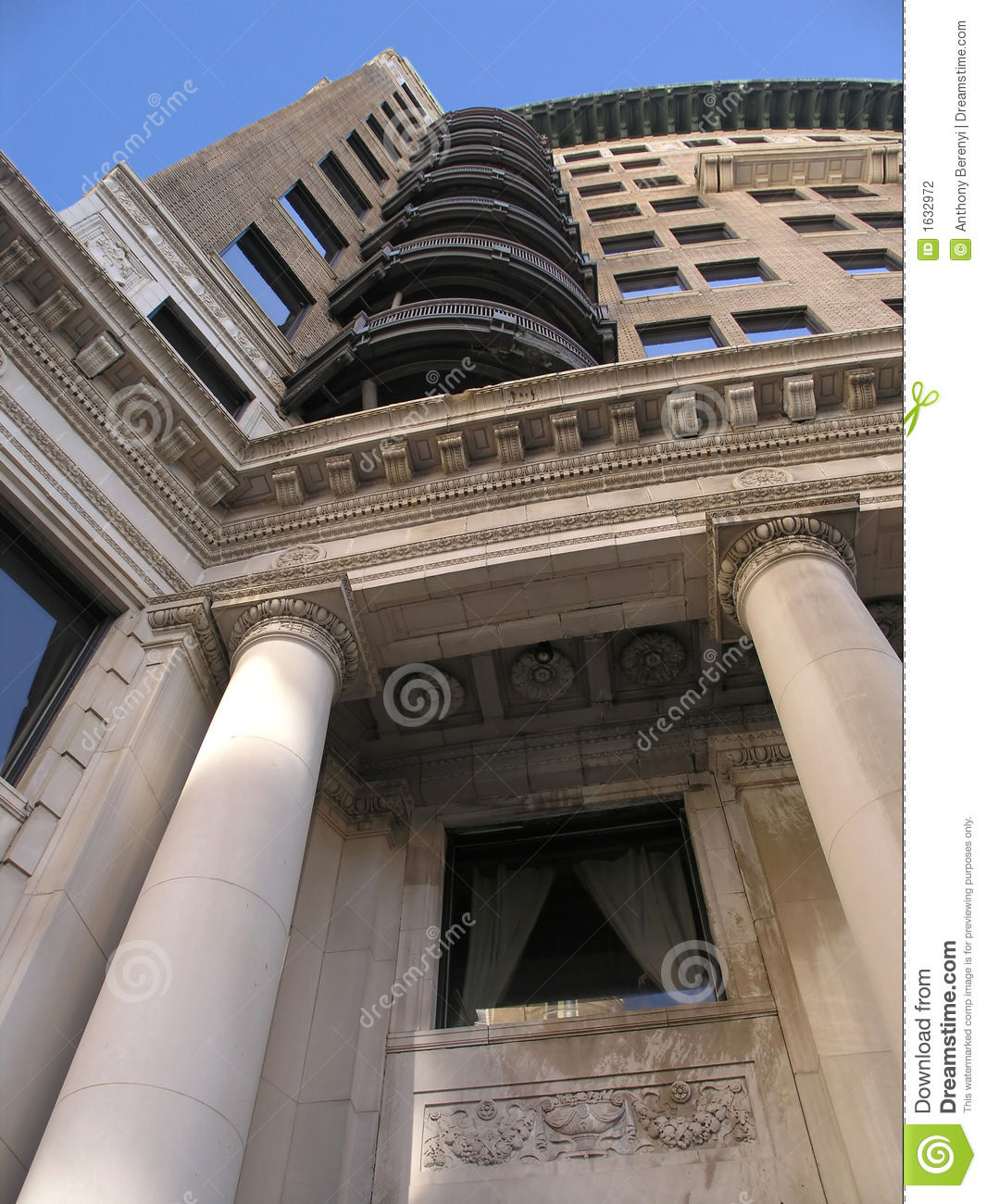 The Columns Apartments: Apartment Column High Rise Stock Photography