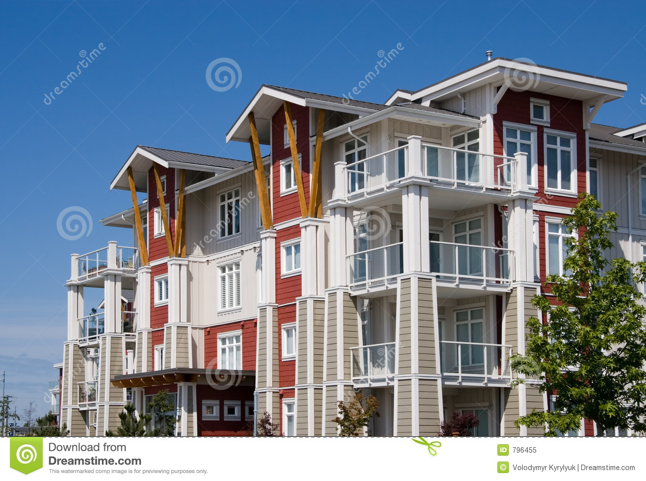 apartment complex royalty free stock photo image 796455