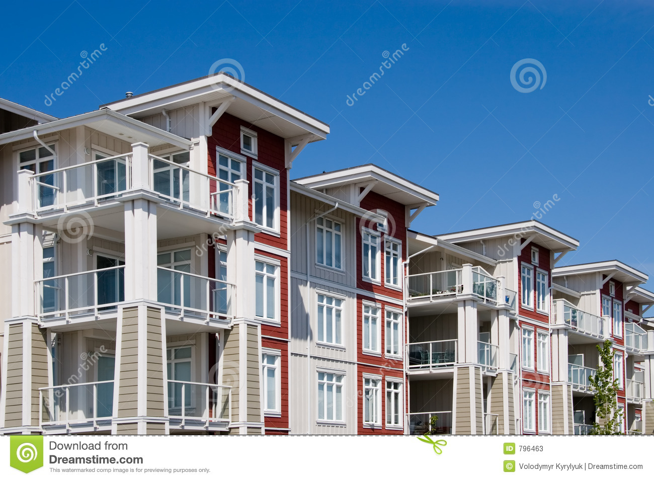 Apartment Complex Stock Photos Image 796463