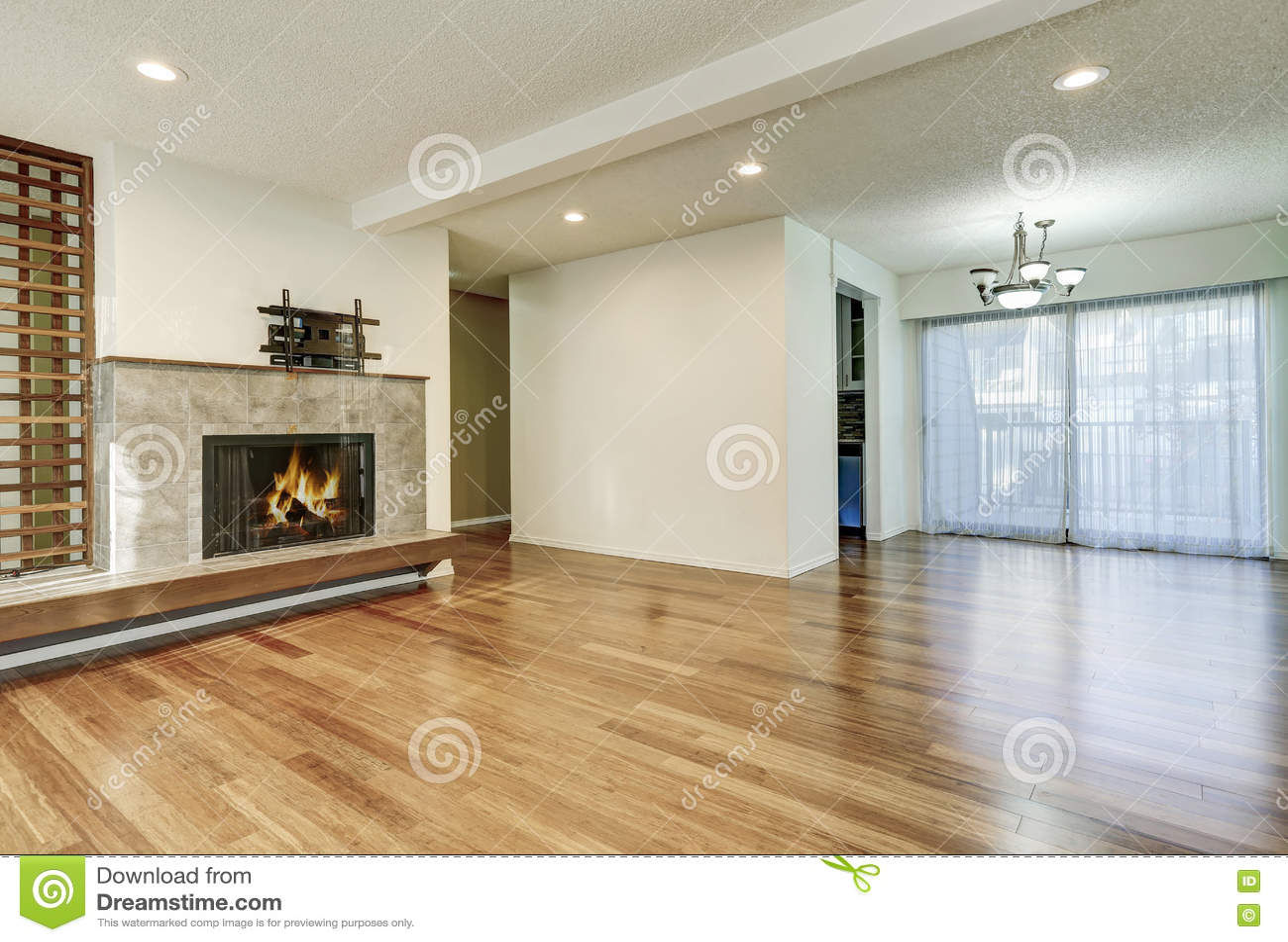 wonderful empty apartment living room | Apartment Empty Living Room Interior Stock Image - Image ...