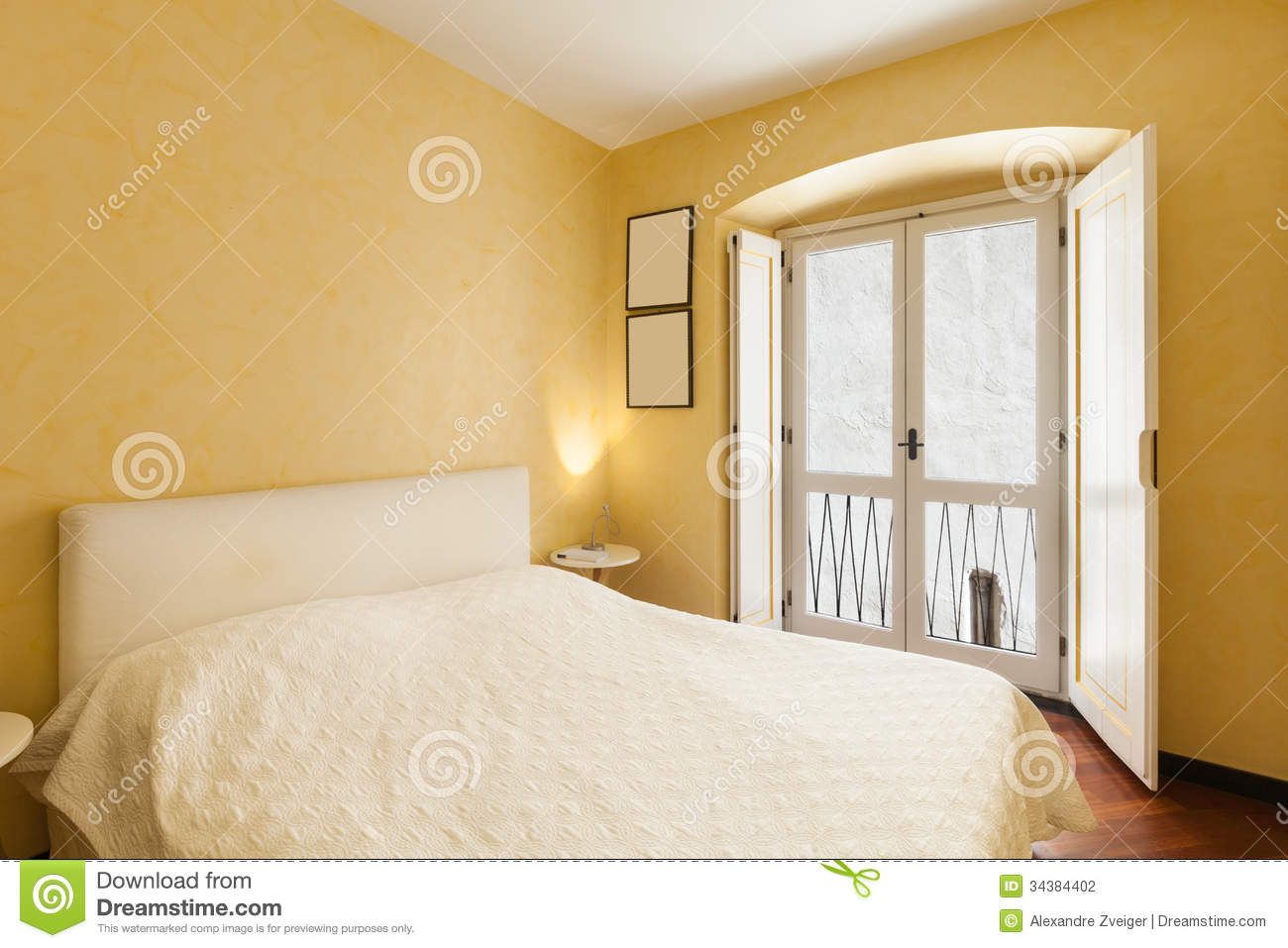 apartment in old building stock photography image 34384402