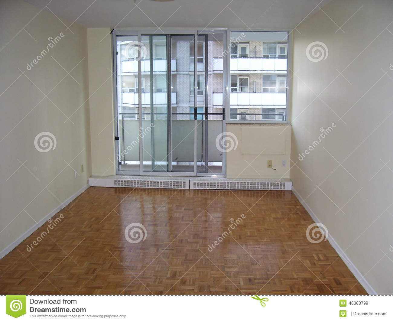 Apartment stock photo image 46363799 for Wood floors in the new apartment