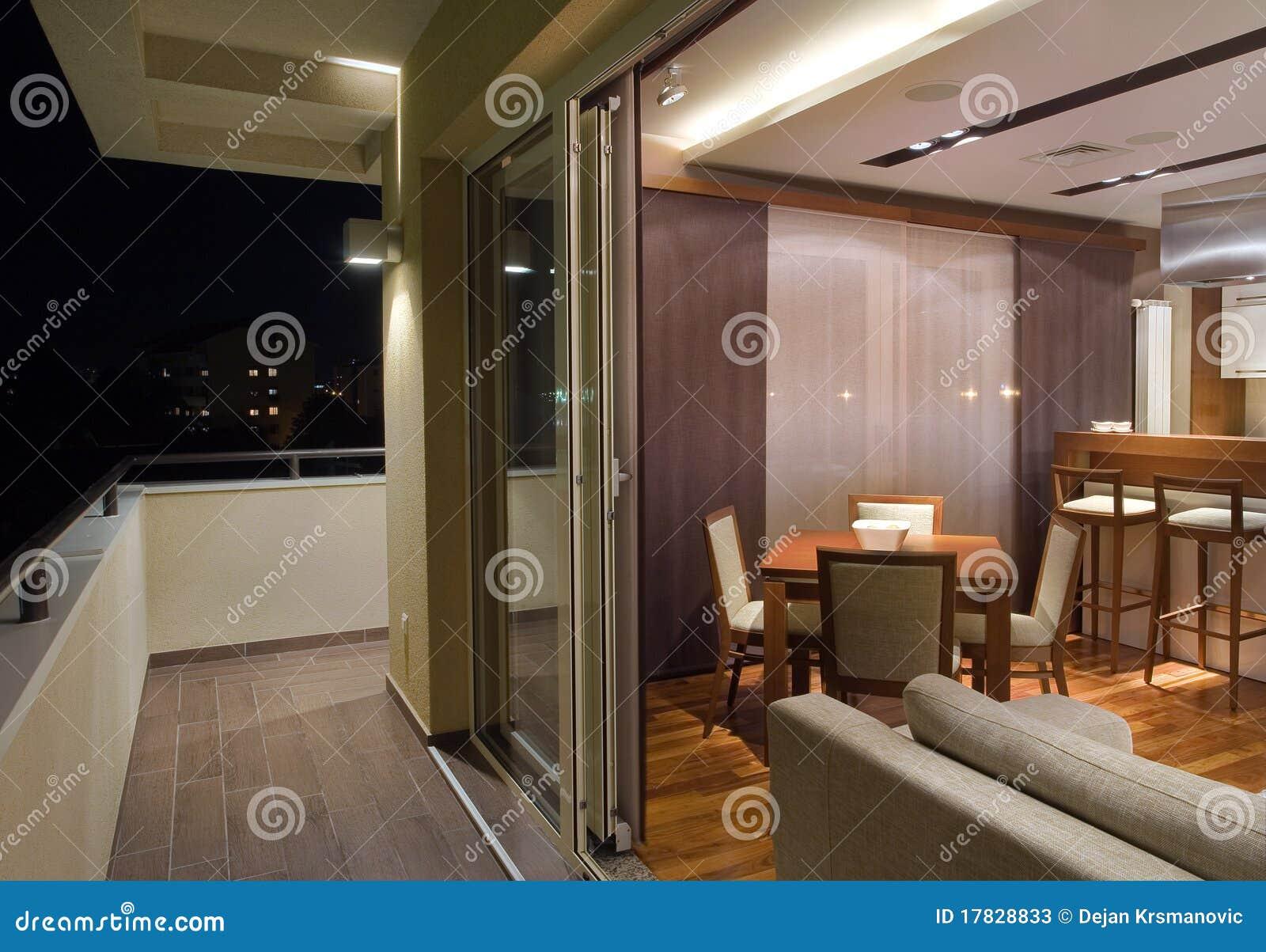 Apartment Terrace Stock Photos Image 17828833
