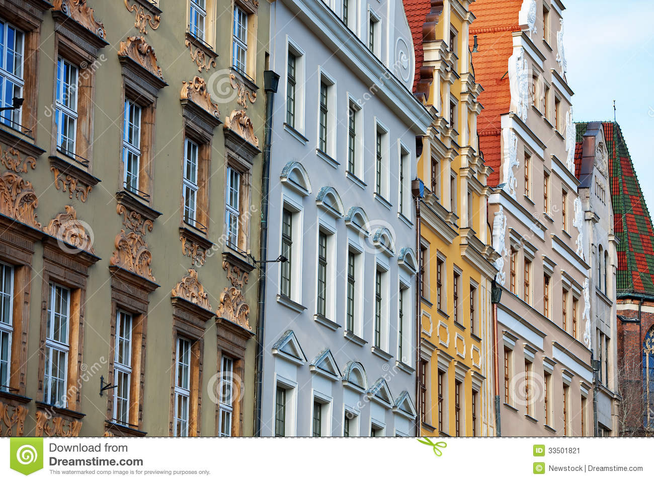 Apartment In Wroclaw Poland Stock Image Image 33501821