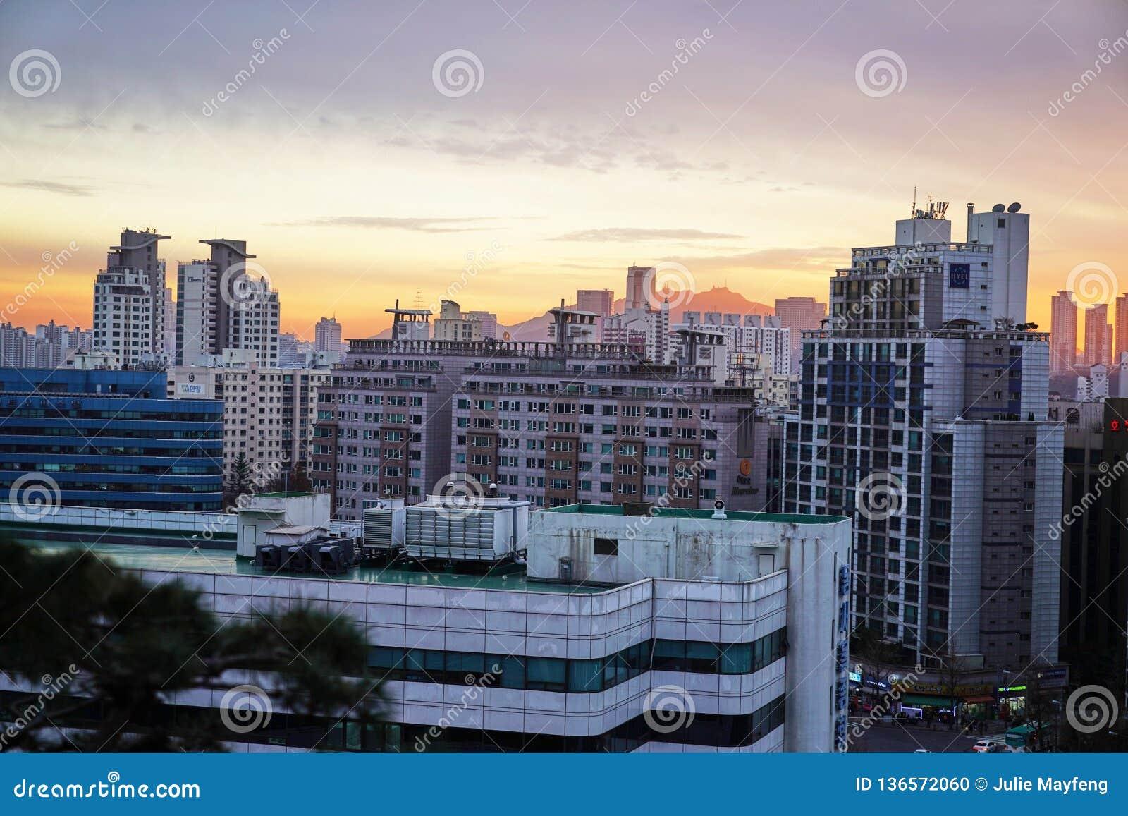 Apartments In Seoul South Korea Editorial Image Image Of Bridge
