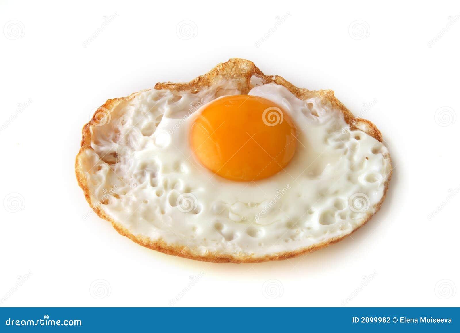 Apenas huevo frito