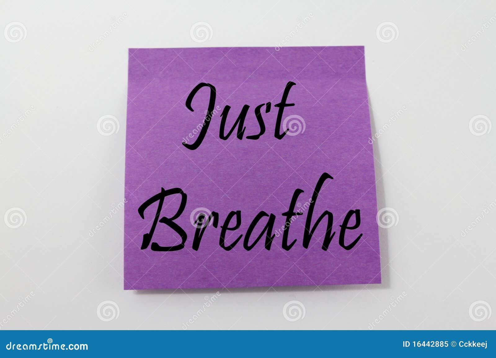 Apenas respire