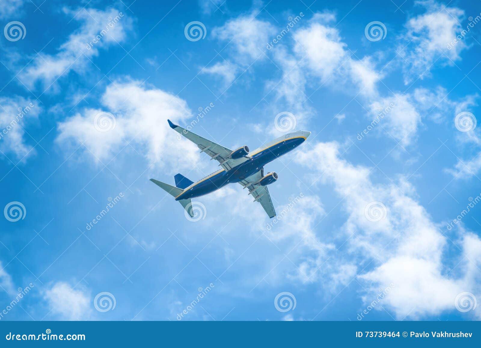 Apenas? um vôo plano no céu