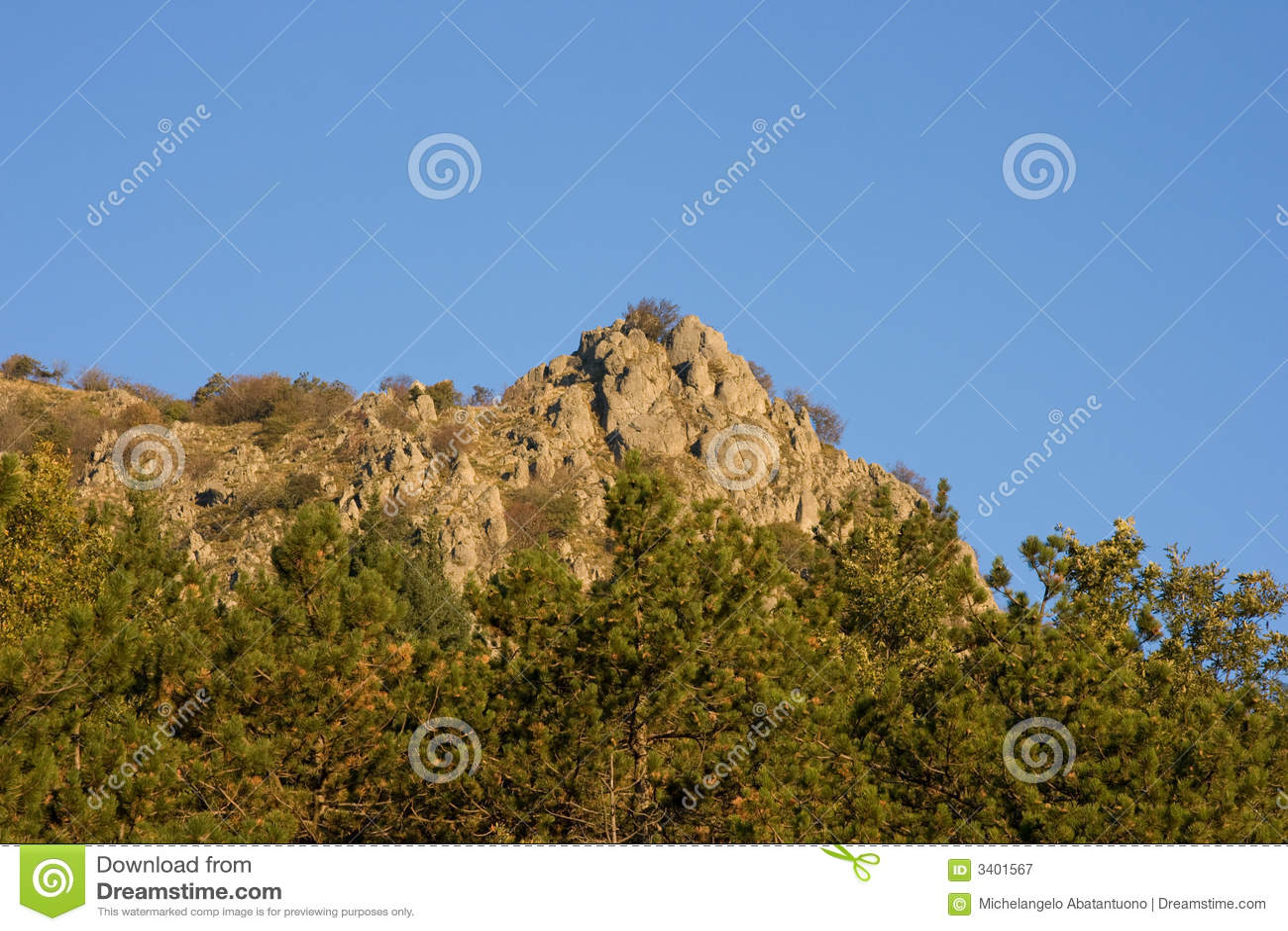 Apennines τοπίο