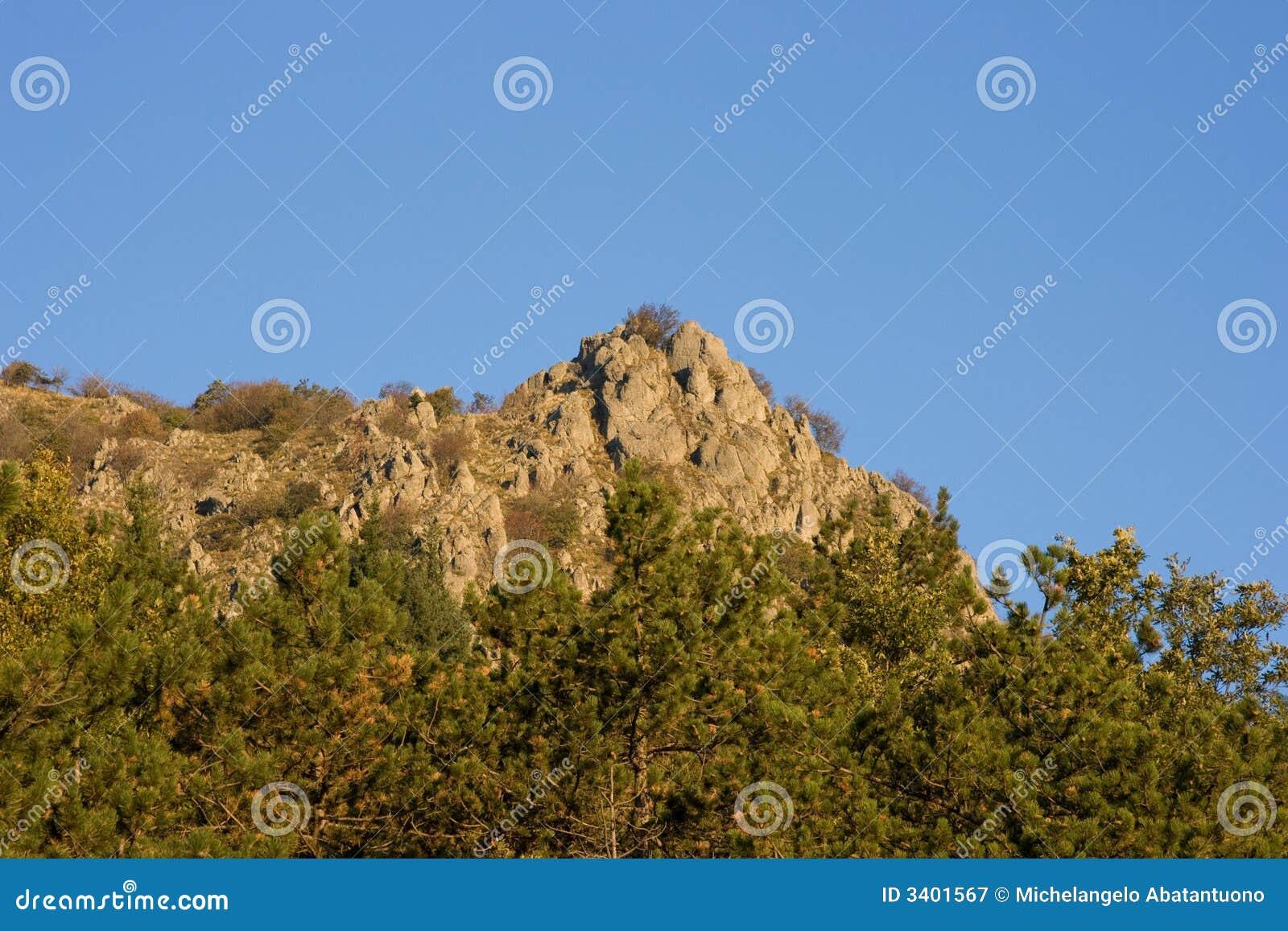 Apennines krajobrazu