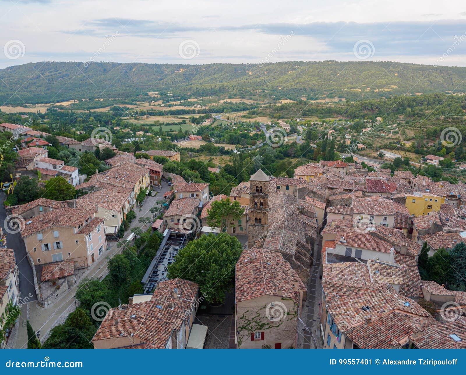 Aperçu de Moustiers-Sainte-Marie, France